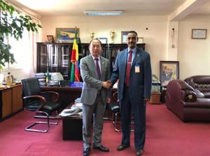 秦金玮会见埃塞俄比亚工商部长